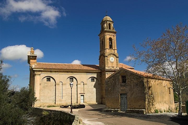 St-Nicolas church in Feliceto