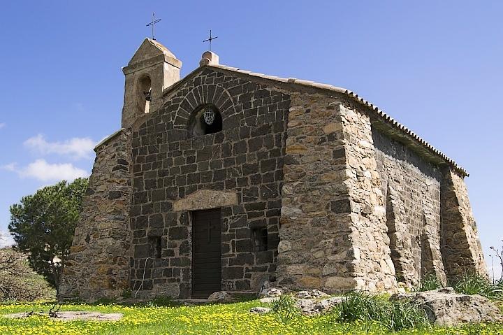 San Cesario chappel in Cateri