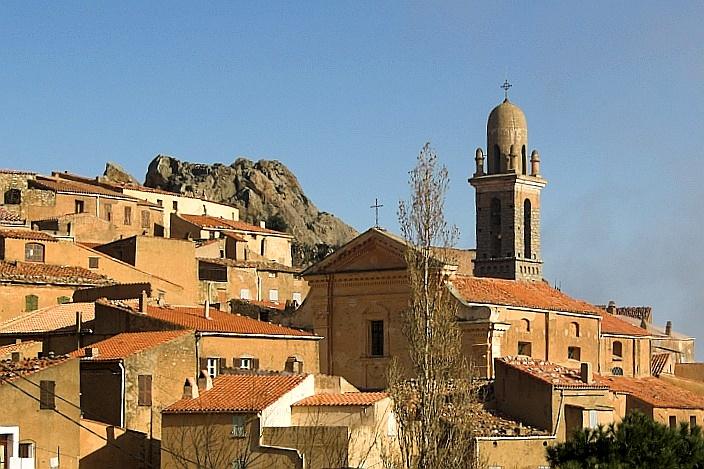St. Michel church in Speloncato