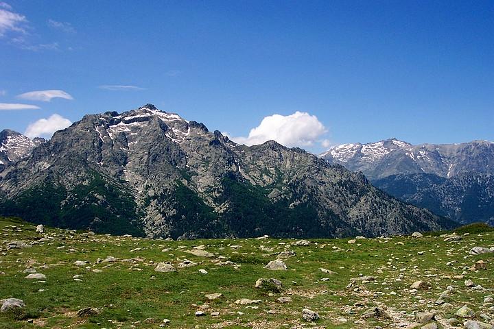 Monte d'Oro from Bocca Palmenti